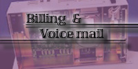 Billing and Voice mail Image